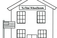 School House Coloring Pages - Coloring Pages House Coloring Pages Enchanting Sheets Free Full Gallery