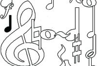 Music Notes Coloring Pages Preschoolers - Coloring Pages Music Coloring Pages Printable for Kindergarten Printable