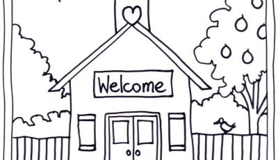 School House Coloring Pages - Coloring Pages School House Coloring Pages Wallpaper Download