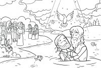 Baptism Coloring Pages - Coloring Pages Thanksgiving Turkey Baptism Page Contemporary Style Download