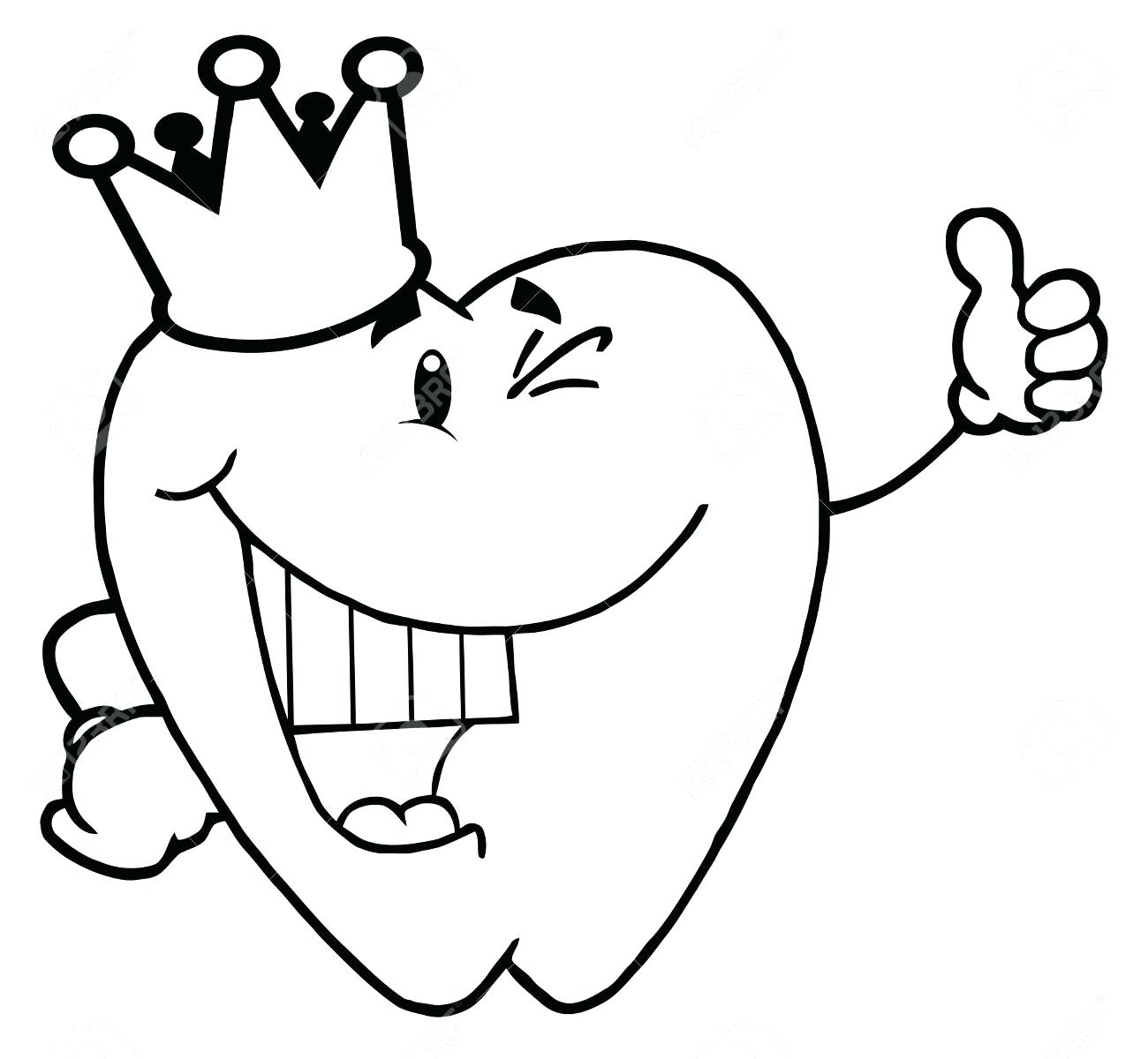 Coloring Pages Tooth Dental Health For Preschoolers To Print Of Inspirational