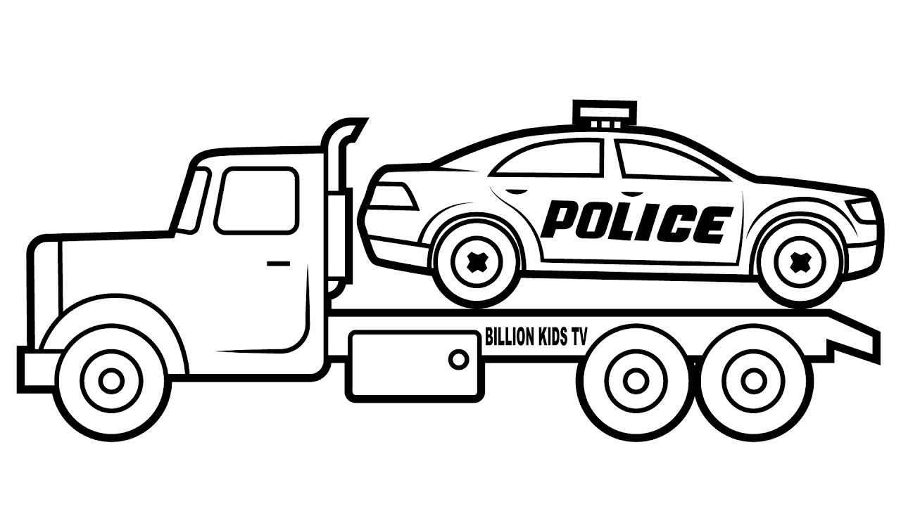 98 Police Car Coloring Pages Page Cars Police Car