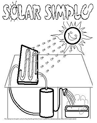 Solar Energy Coloring Pages Printable 18l - Save it to your computer