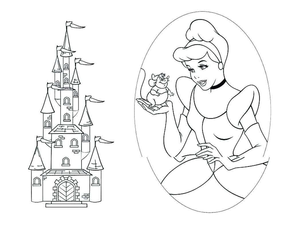 Contemporary Castle Coloring Sheets Mold Documentation Template Printable Of Walt Disney Coloring Pages Marie Walt Disney Characters Download