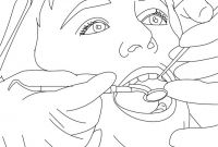 Dental Coloring Pages for Kids - Dentist Coloring Pages Treating Kids Teeth Grig3 Download