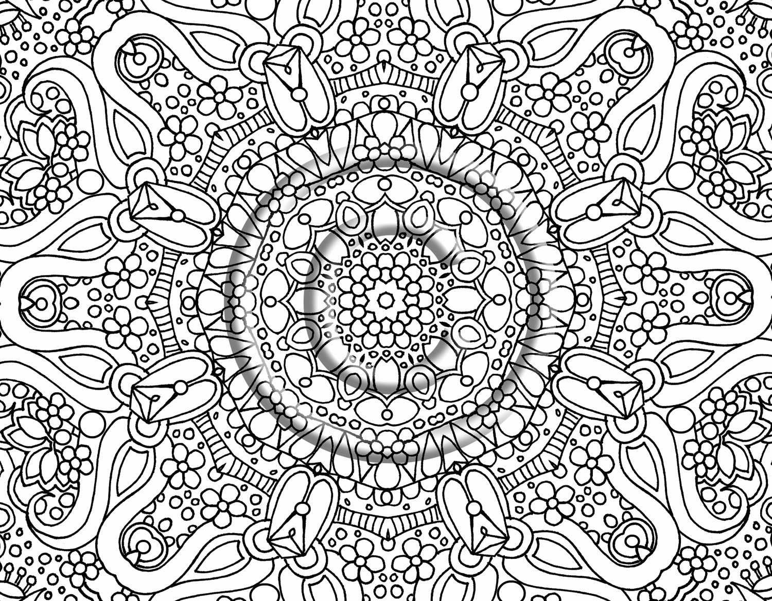 Difficult Coloring Pages Coloring Pages Gallery – Free Coloring Sheets