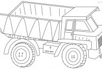 Truck Coloring Pages - Dump Truck Coloring Pages 2 Coloring Pages for Children Collection