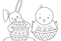 Coloring Easter Pages to Print - Easter Coloring Pages for Kids to Print