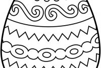 Online Easter Coloring Pages - Easter Egg Coloring Pages 23 Line Kids Printables for In Easter to Print