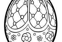 Online Easter Coloring Pages - Easter Egg Coloring Pages Line Cute Free Printable Easter Egg Gallery