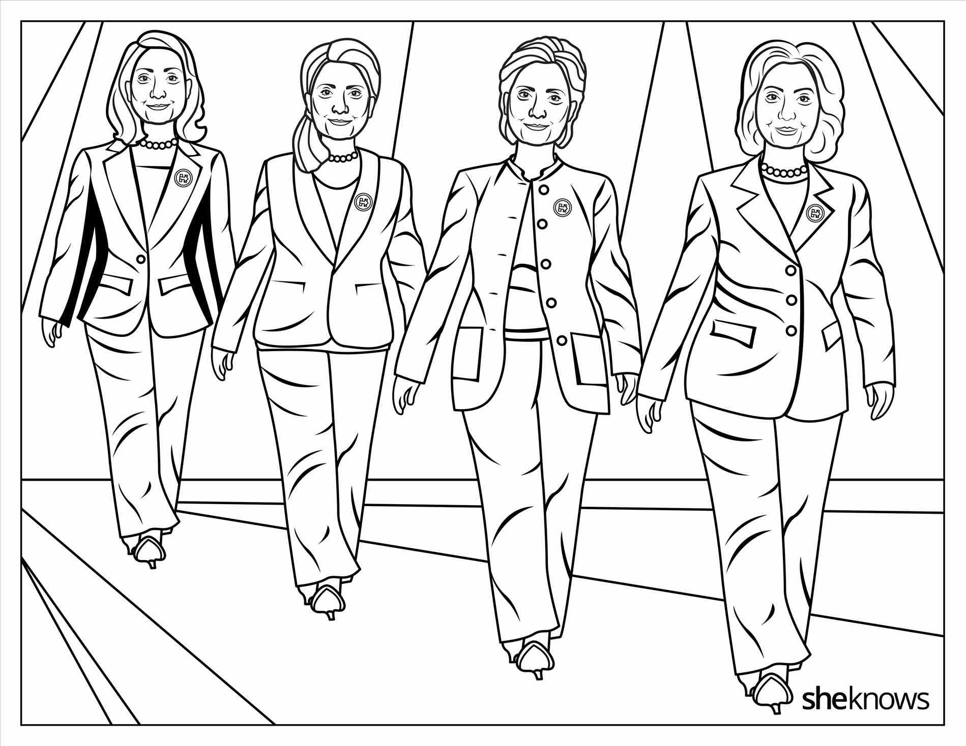 Enchanting Trump Coloring Pages Frieze Printable Coloring Pages Gallery Of Hillary Clinton Coloring Pages Collection to Print
