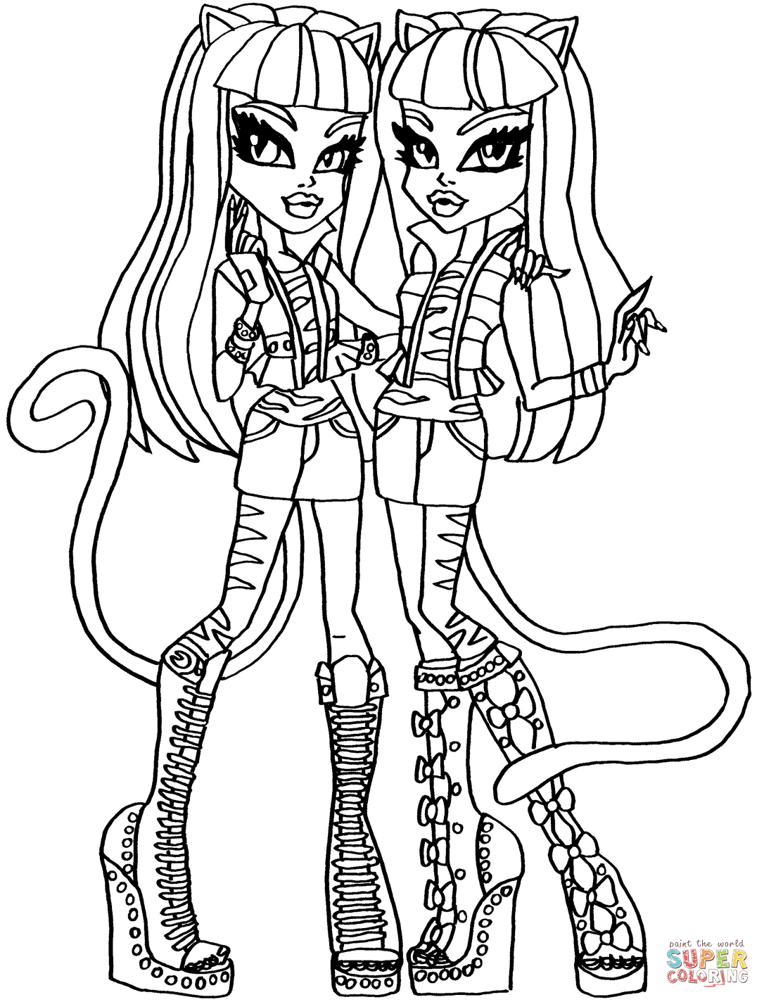 Monster High Coloring Pages that You Can Print - Exquisite Monster High Printables Coloring Pages Free Gallery