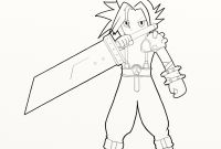 Final Fantasy Coloring Pages - Final Fantasy Coloring Pages ordering Download