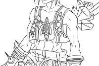 Final Fantasy Coloring Pages - Final Fantasy Moogle Coloring Pages Keywords and Pictures Download