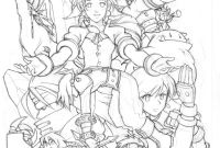 Final Fantasy Coloring Pages - Final Fantasy Vii Team Artes Para Colorir Pinterest Gallery