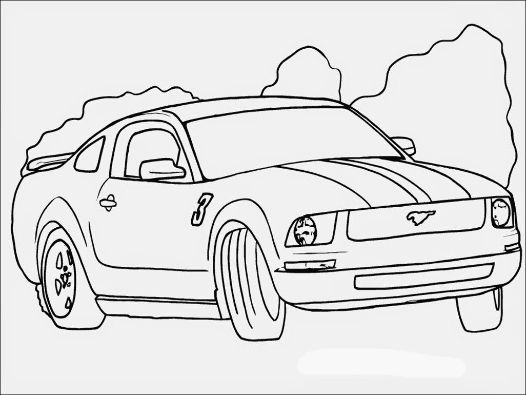 Ford Mustang Drawing at Getdrawings Printable Of Ford Mustang Gt500 Coloring Pages Appealing Page Full Size Download