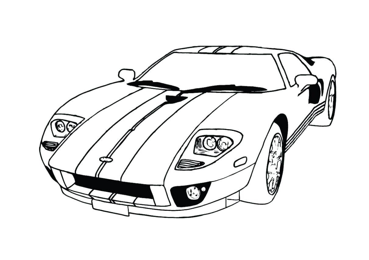 Ford Mustang Gt Drawing at Getdrawings Download Of Super Car ford Mustang Coloring Page Inspirational Mustang Download Printable