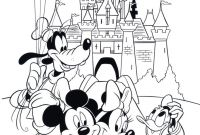Walt Disney World Coloring Pages - Free Disney Coloring Page Features Cinderella S Castle and All the Gallery