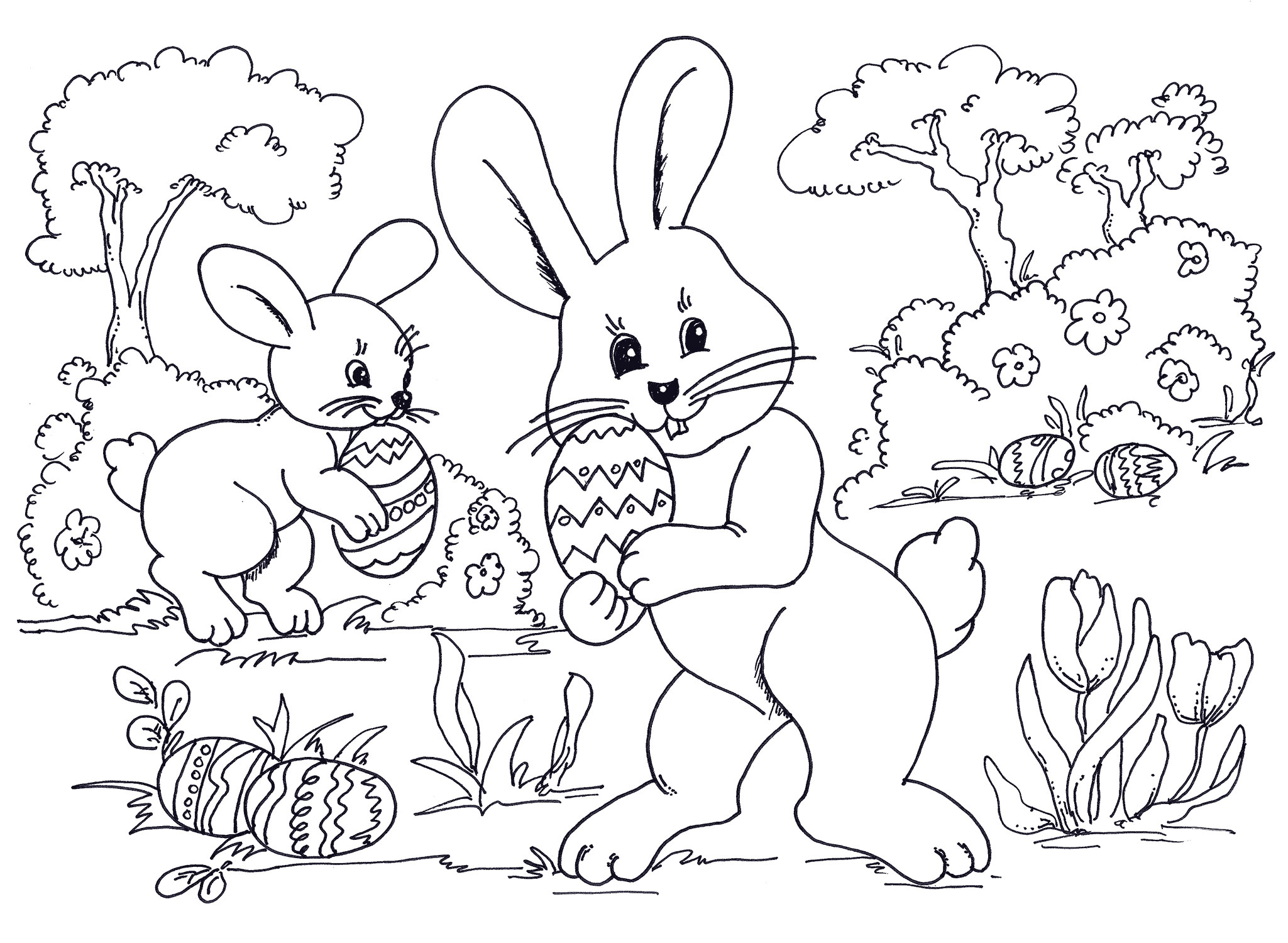 Free Easter Coloring Pages Easter Coloring Pages Best Coloring Pages to Print Of Bunny Egg by Rustchic Bucket Printable