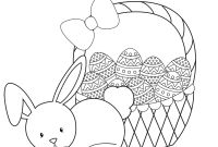 Online Easter Coloring Pages - Free Online Easter Bunny Coloring Pages – Counter Christmas Photo Gallery