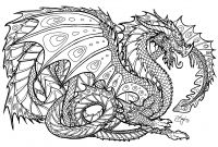 Complicated Coloring Pages to Print - Free Printable Dragon Coloring Pages for Kids Catgames to Print