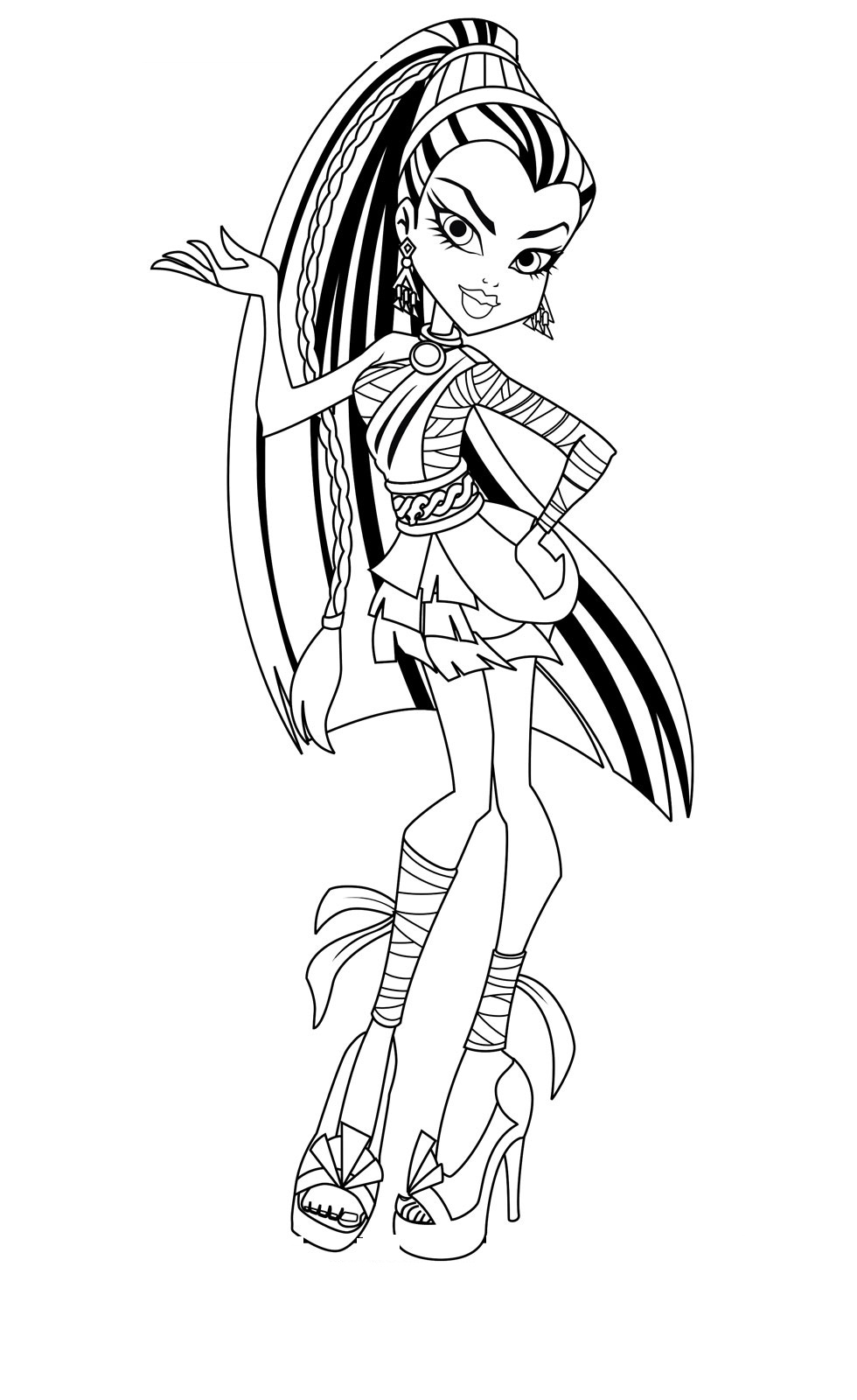 Free Printable Monster High Coloring Pages for Kids Download Of Monster High Baby Coloring Pages 012 to Coloring Pages Collection
