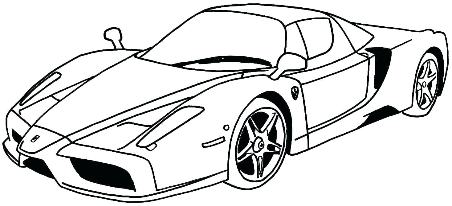 Fresh Coloring Race Car Coloring Pages Cars Printable A Throughout