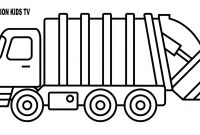 Truck Coloring Pages - Fresh Garbage Truck Coloring Pages Design Collection