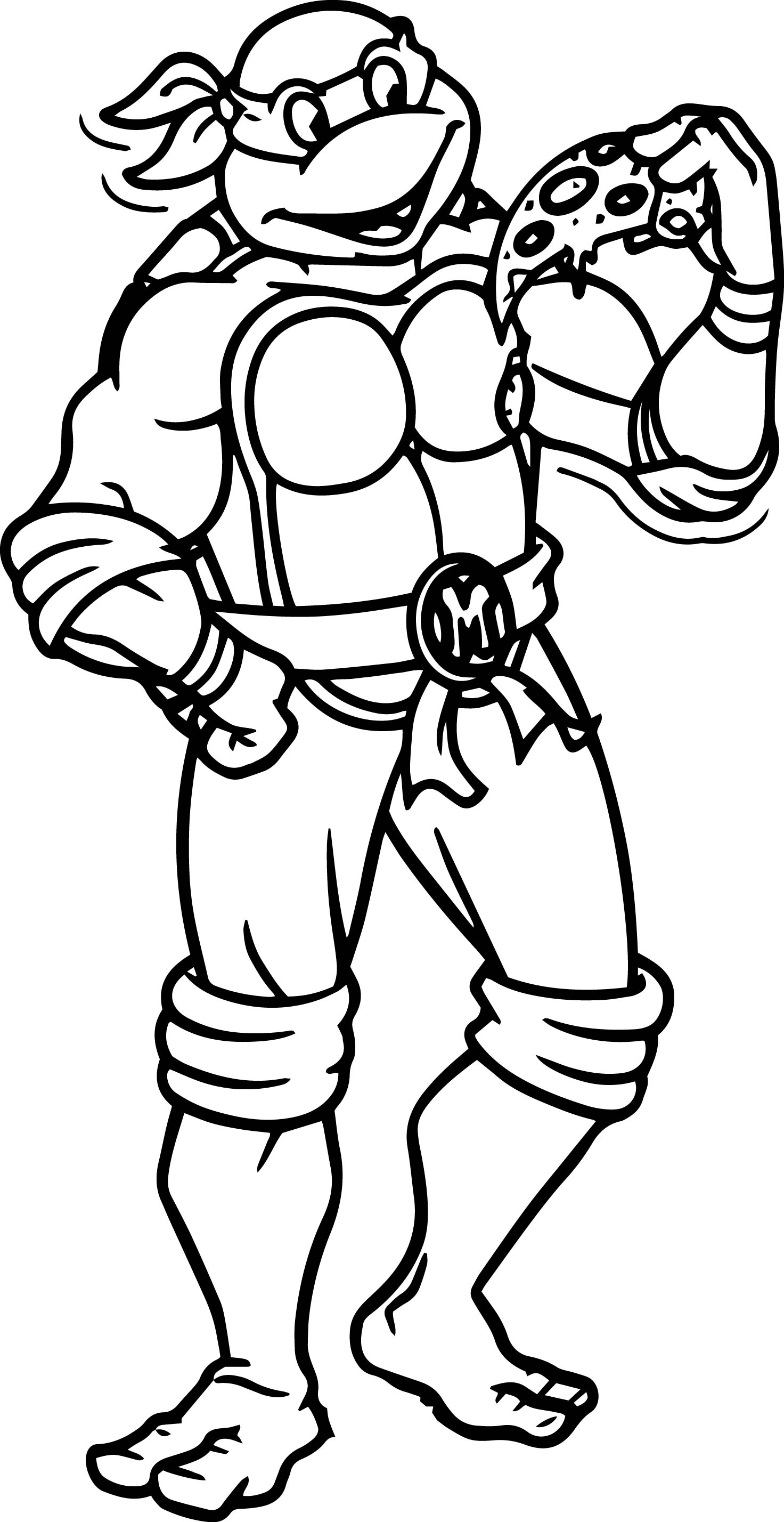 Ninja Turtles Movie Coloring Pages Collection 6q - Free For Children