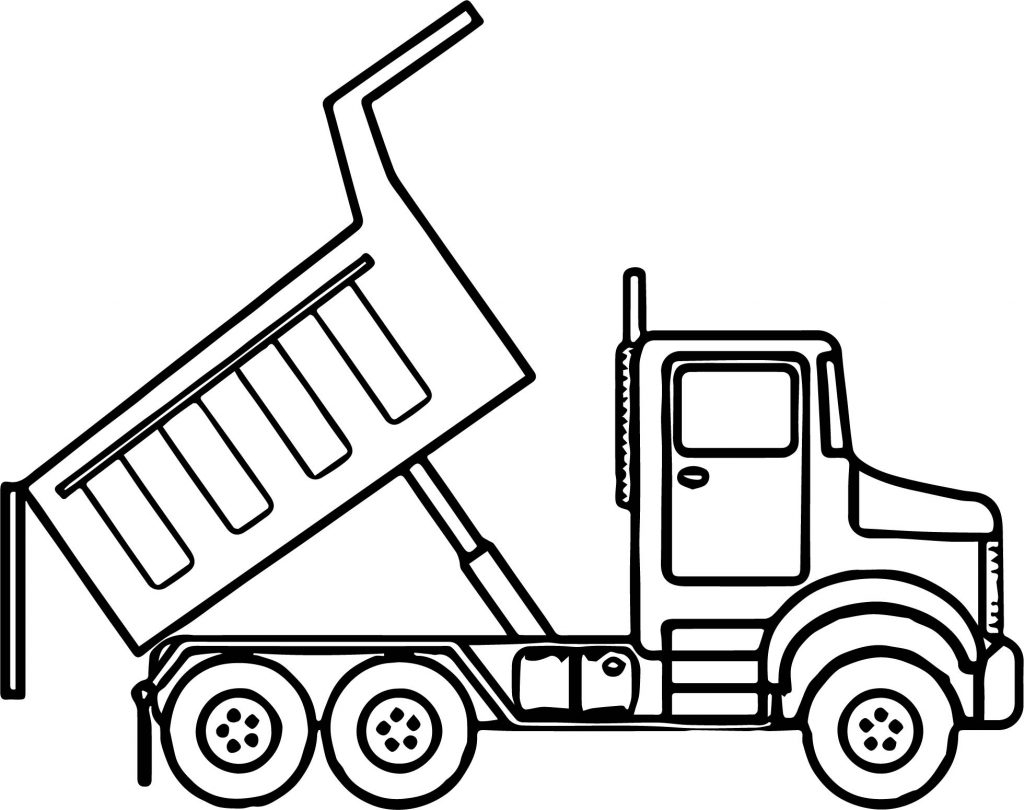 Fresh Tipper Truck Coloring Pages Gallery Download Of Truck Coloring Pages Gallery