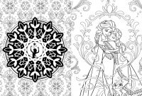 Walt Disney World Coloring Pages - Frozen Sisters Love Free Coloring Page • Disney Frozen Kids Collection