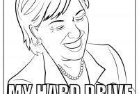 Hillary Clinton Coloring Pages - Funny Hillary Clinton Meme Coloring Page for Adults Hilarious Gallery