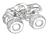 Blaze Coloring Pages to Print - Grave Digger Coloring Pages Blaze Monster Truck Boy Page Free Trucks Collection