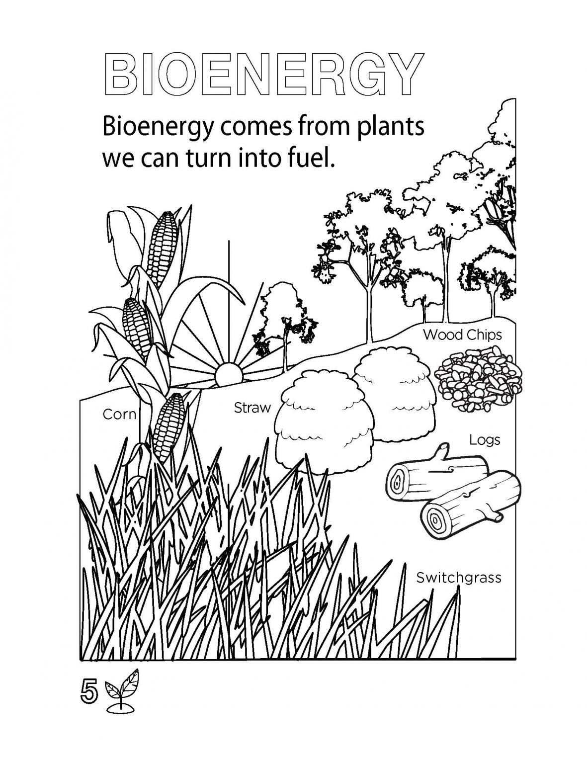 Solar Energy Coloring Pages Printable 3s - Free For kids