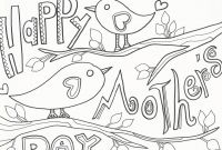 Mothers Day Coloring Pages for Preschool - Happy Mothers Day Coloring Pages Preschool In Tiny Print Pict to Print