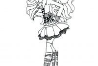 Monster High Coloring Pages that You Can Print - Hard Monster High Coloring Pages Collection