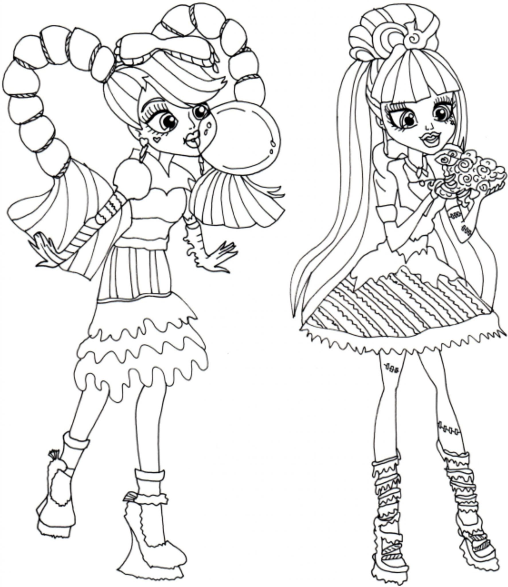 Inspiration Free Printable Monster High Coloring Pages Brand Boo Download Of Inspiring Monster High Coloring Pages Colouring Sheets Printables Gallery