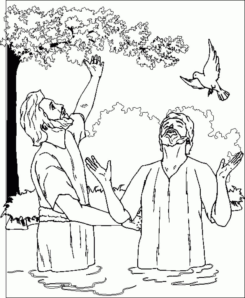 Inspirational Design Baptism Coloring Pages Extraordinary John Gallery Of Coloring Pages Thanksgiving Turkey Baptism Page Contemporary Style Download