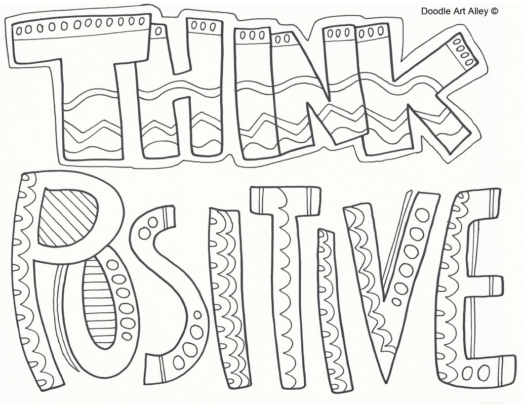 Inspirational Quotes Coloring Pages Sharry Printable – Free Coloring ...