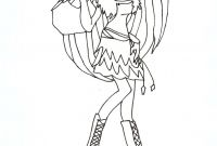 Monster High Coloring Pages that You Can Print - Inspiring Idea Monster High Coloring Pages 2 to Print Color Printable