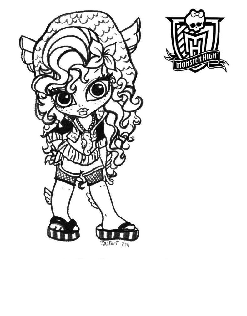 Monster High Coloring Pages that You Can Print - Inspiring Monster High Coloring Pages Colouring Sheets Printables Gallery