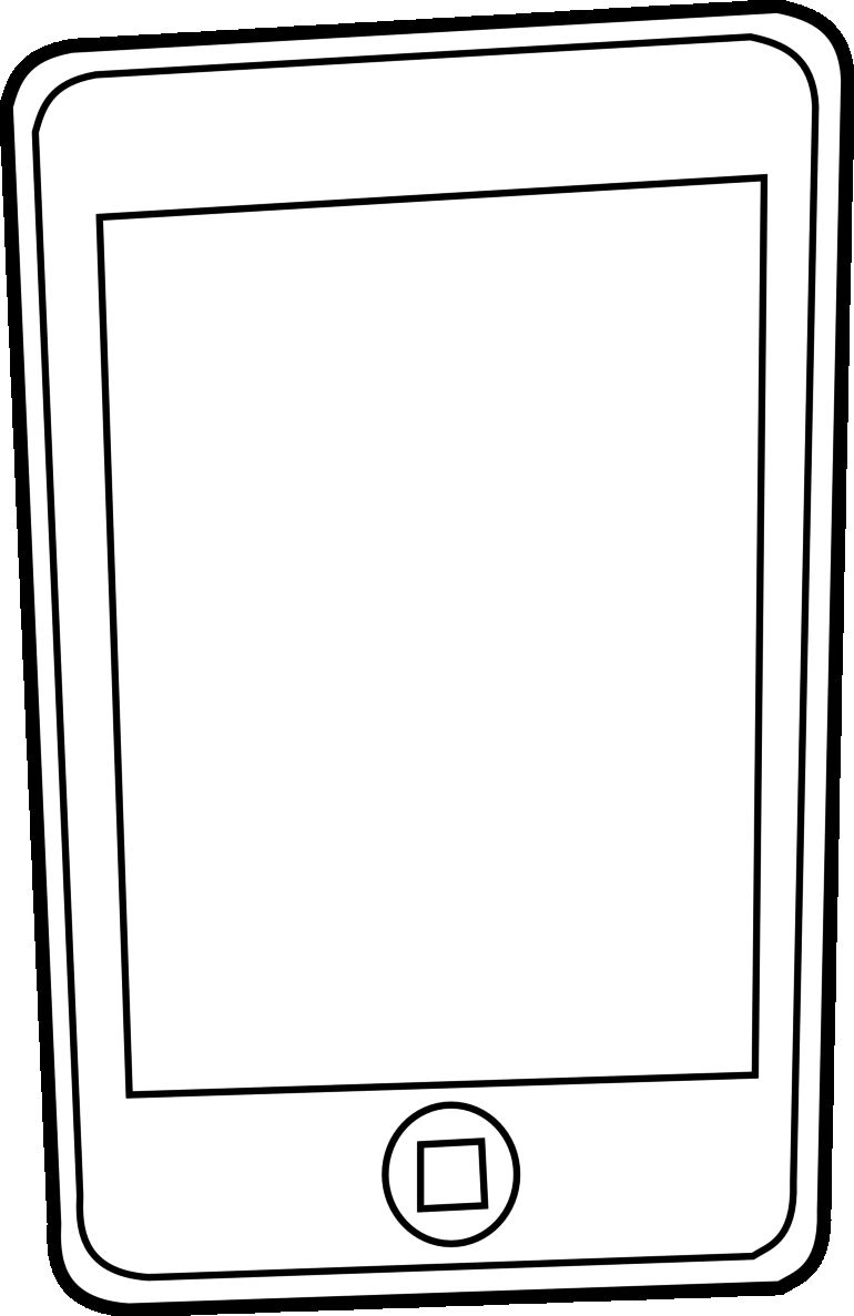 iPhone Coloring Page Black White Line Pages with for iPhone Coloring Gallery Of Luxury iPhone 6 Coloring Page Download
