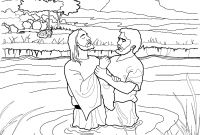 Baptism Coloring Pages - John the Baptist Coloring Page for Kids From Lds Ldsprimary Gallery