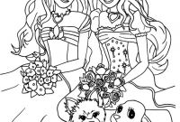 Coloring Pages Barbie - Kids Coloring Sheets Printable