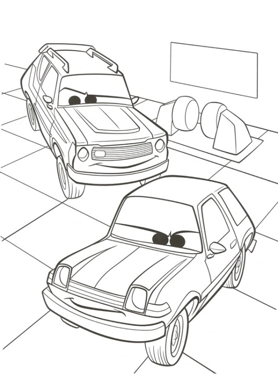 Cars 2 Coloring Pages Printable 1t - To print for your project