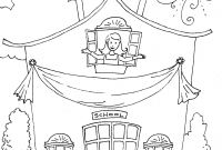 School House Coloring Pages - Last Day School Coloring Pages School Coloring Page Printable Gallery