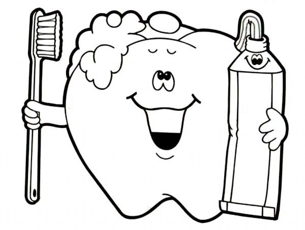 Latest Dental Health Coloring Sheets Healthy Pages My Plate Dairy to Print Of No Fear Kids Zone Download