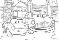 Cars 2 Coloring Pages - Lightening Mcqueen Cars 2 Coloring Pages Hellokids Gallery