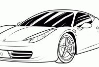 Coloring Pages Of Car - Lovely Cool Car Coloring Pages Download