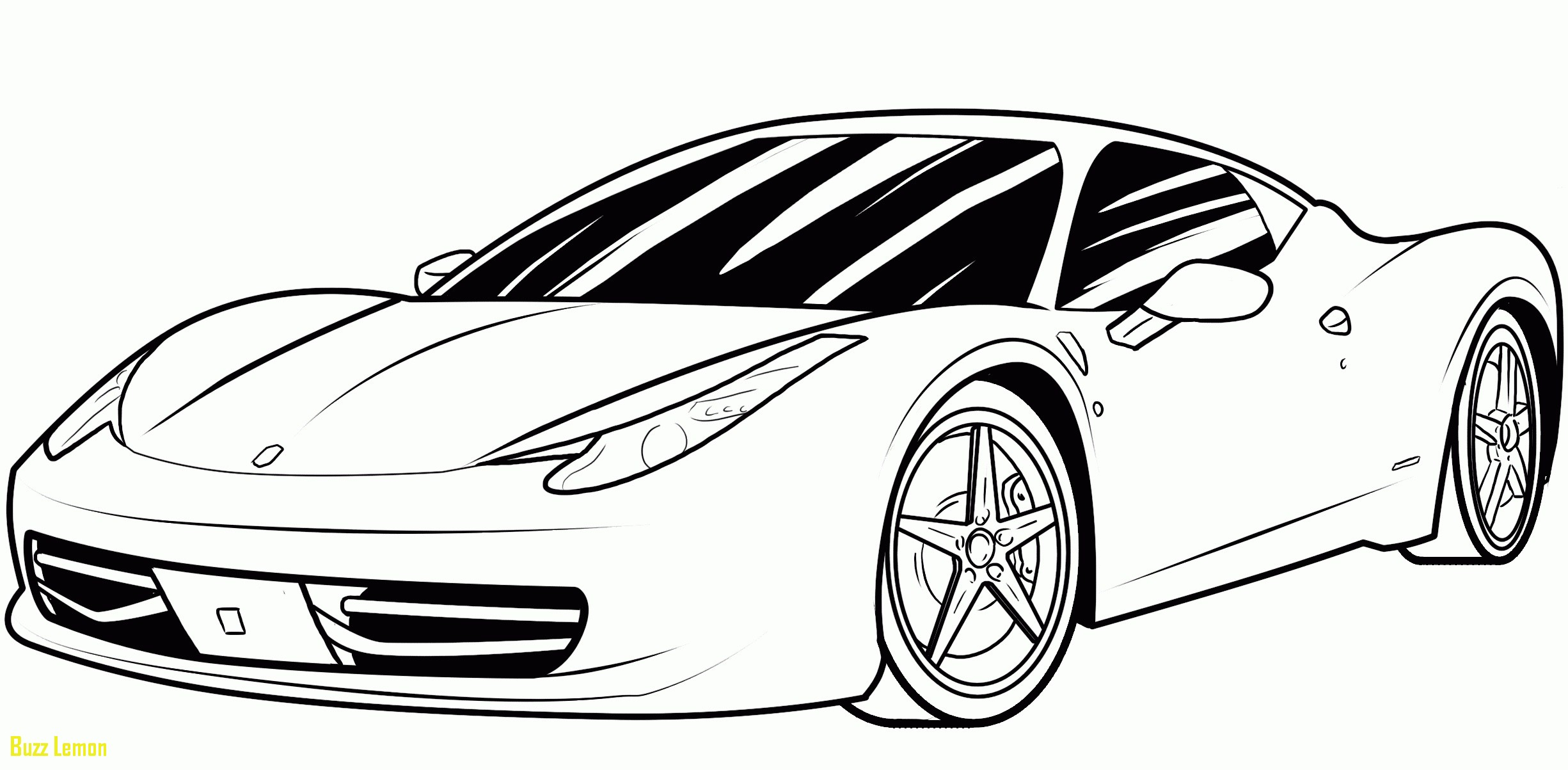 Coloring Pages Of Car Collection 13s - Free For Children